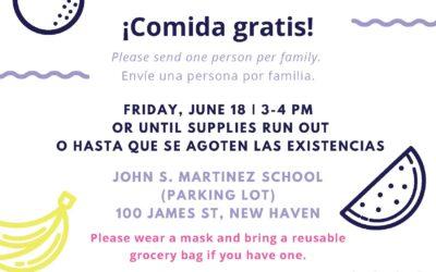 Fair Haven neighborhood Food Pantry – June 18th