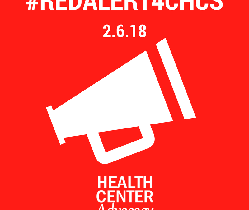 Wear Red in support of community health.  February 6th is Advocacy Day!