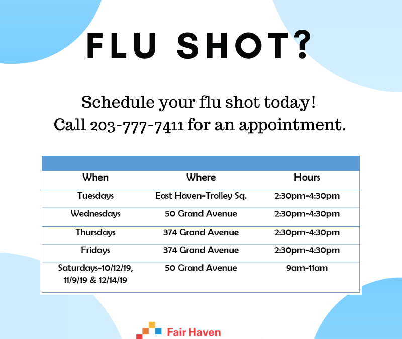 Flu Shots Available Now – Make Your Appointment Today!