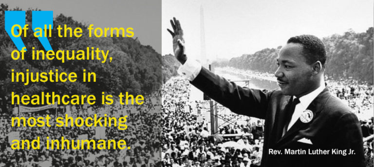 In the grip of a pandemic: What would Dr. King say?- Op-ed by Dr. Sue Lagarde