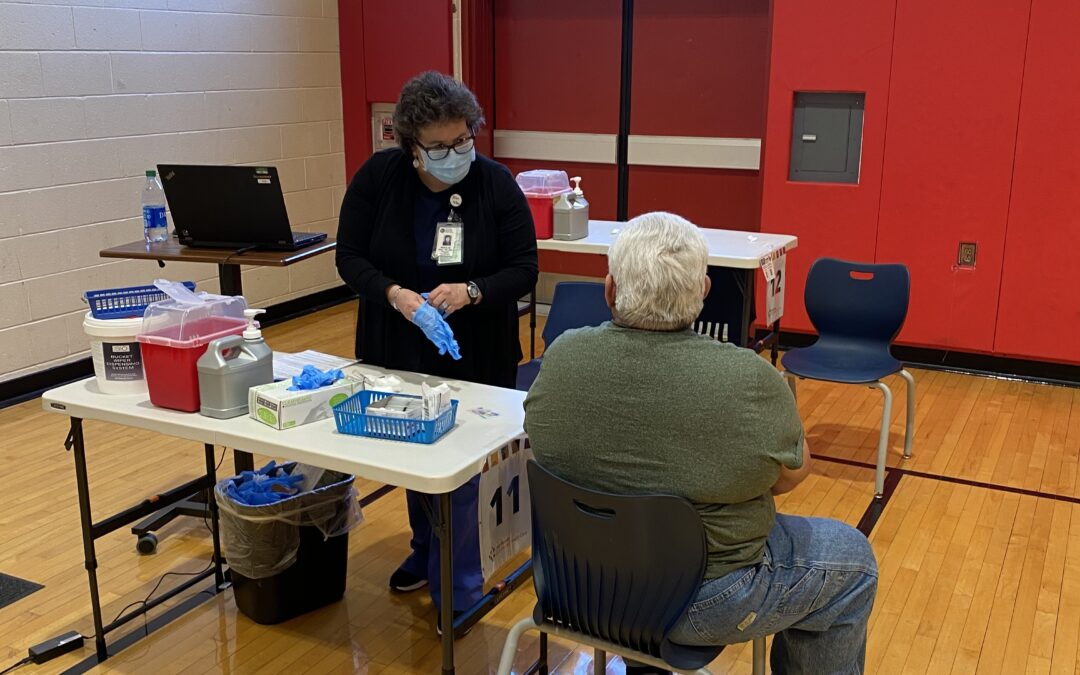 Walk-up COVID Vaccine Clinic Expanded