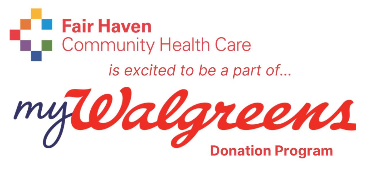 FHCHC joins MyWalgreens Rewards!